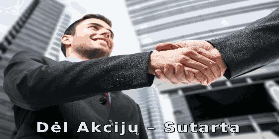 Akcijų Pardavimo Sutartis