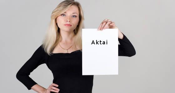 Aktai