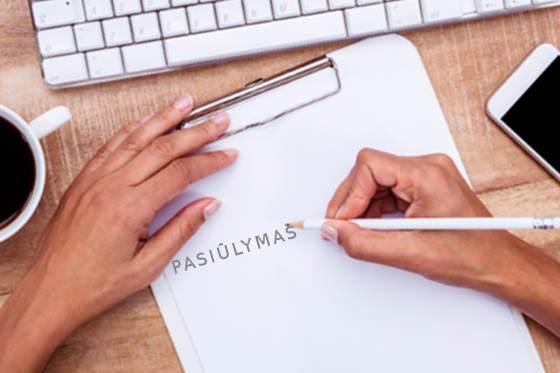 Kaip Rašyti Pasiulymą