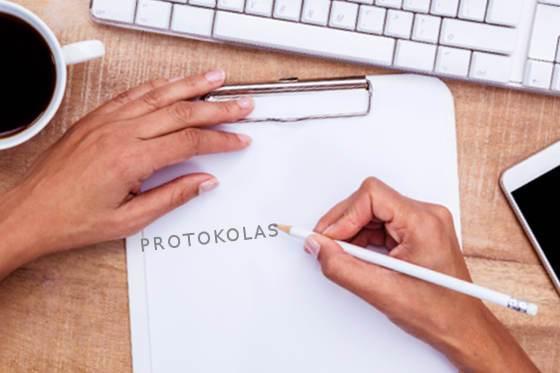Kaip Rašyti Protokolą