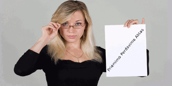 Priėmimo Perdavimo Aktas